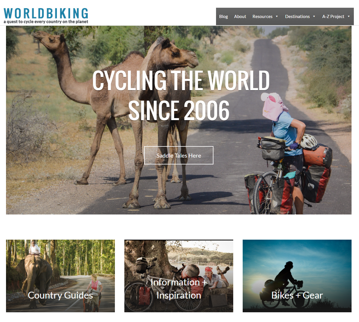 word biking website