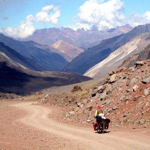 bicycle touring in Argentina