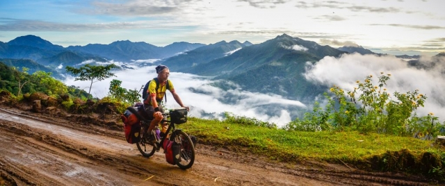 bicycle touring in the Philippines