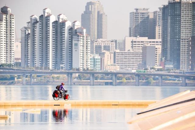 bike touring seoul korea