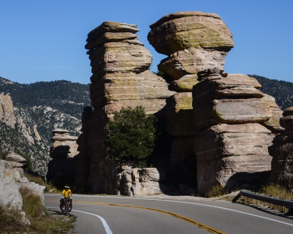 The Ride up Mount Lemmon near Tucson, Arizona, USA.
