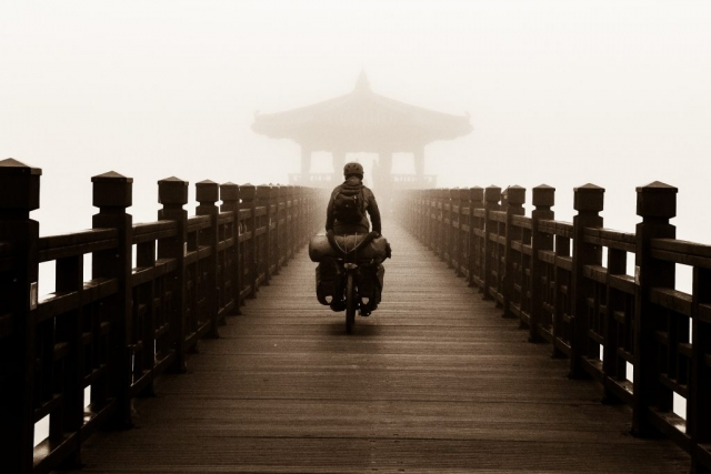 bicycle touring in South Korea