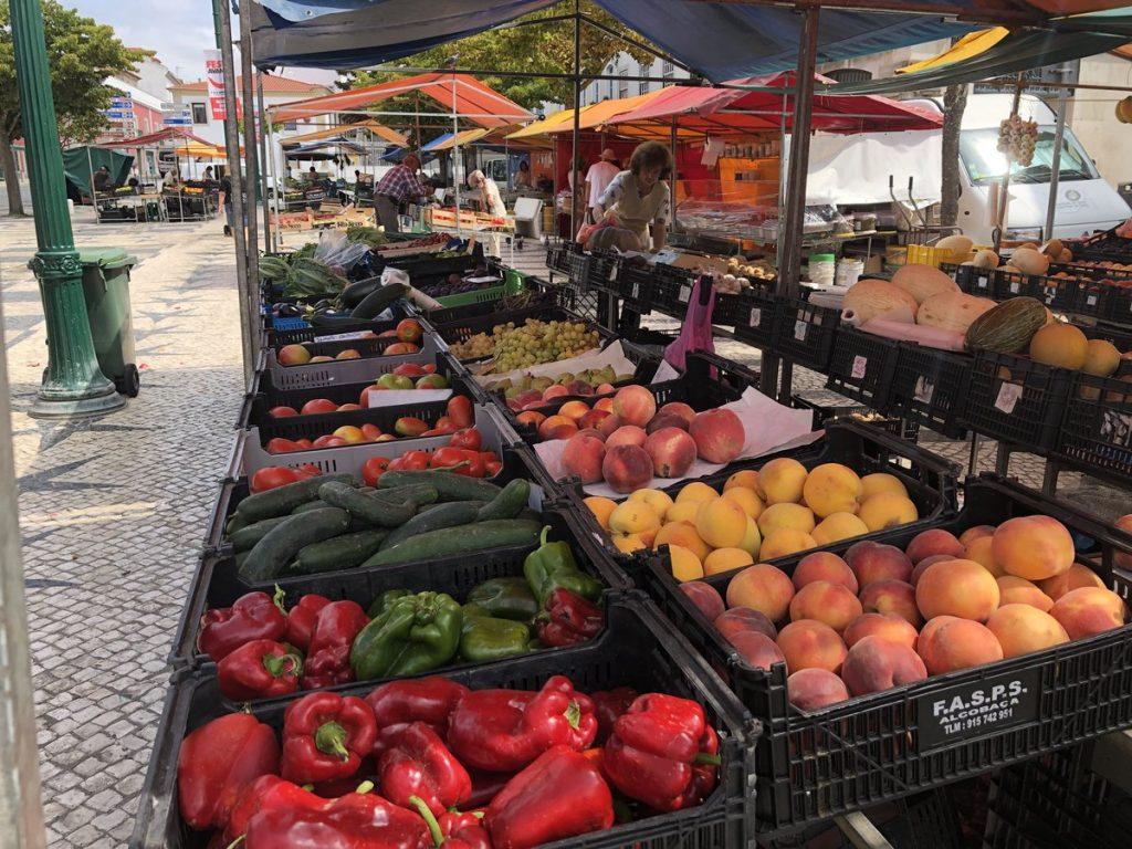 fruit market Caldas da Rainha portugal